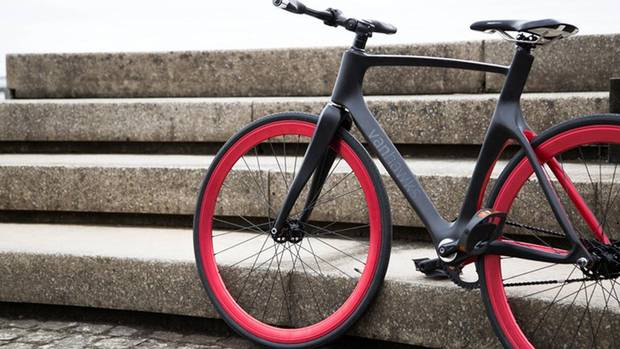 1. Vanhawks Valour is the first connected carbon fibre bicycle featuring performance tracking, security sensors and interactive feedback. Vanhawks, the Toronto-based startup behind the bike, has raised $820,083 of its $100,000 goal on Kickstarter.