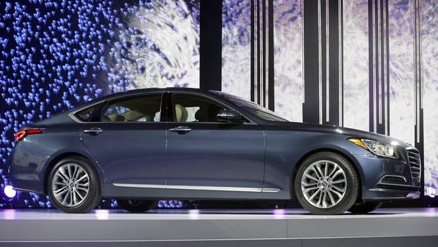 Best second act award: Five years ago, Hyundai introduced the Genesis luxury sedan and all the grand thinkers in the auto industry were amused. No more. The second-generation Genesis is nearly the equal of some very good German sedans, for much less money. (Carlos Osorio/AP)