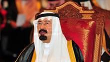 Saudi Arabia's King Abdullah bin Abdul-Aziz (STR)