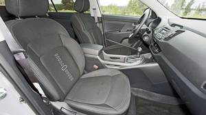 Inside the 2011 Kia Sportage