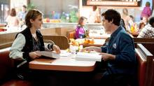 "Emma Watson and Logan Lerman in a scene from ""The Perks of Being a Wallflower"" (John Bramley/AP)"