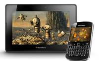 One of the hottest games for BlackBerry is Fruits And Ninja, which currently ranks No. 6 on RIM's top paid list.