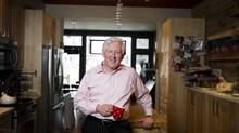 Interim federal Liberal leader Bob Rae at his home in Toronto, Ont. (Kevin Van Paassen/The Globe and Mail)