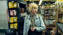 Leah Goldstein, real-life frontwoman of indie rock band July Talk, stars in the film as an aspiring actress named Edith.