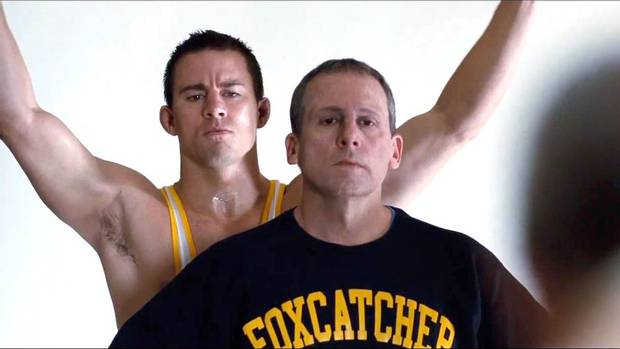 Foxcatcher- The second teaser trailer for Moneyball director Bennett Miller's latest film, the real-life story starring Channing Tatum as Olympic wrestler Mark Schultz, is even more intense than the first. Hits theatres Nov. 14. (Youtube.com)