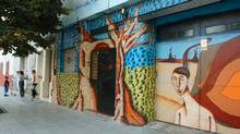 The streets of Villa Crespo, Buenos Aires, Argentina (Jillian Dickens/Globe and Mail)