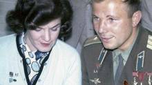 Olive Skene Johnson met a Soviet cosmonaut while attending a peace conference in the Soviet Union in 1962. (Handout/Handout)