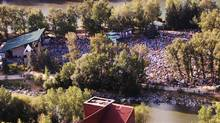 The Calgary Folk Music Festival will be held with two fewer stages. (Doug Callow)