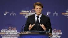 France's Finance Minister Francois Baroin. (CHARLES PLATIAU/REUTERS)