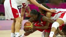 Tamara Tatham went 10-for-13 from the field and scored 25 points in Canada's 79-71 to Cuba in the FIBA Americas championship final in Xalapa, Mexico on Saturday. (file photo) (KEVIN VAN PAASSEN/THE GLOBE AND MAIL)