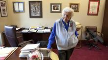 'People believe I'm honest. It's simple as that,' says Mayor Hazel McCallion. (Deborah Baic/The Globe and Mail)
