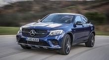 2017 Mercedes-AMG GLC43 4MATIC Coupe (Mercedes-Benz)
