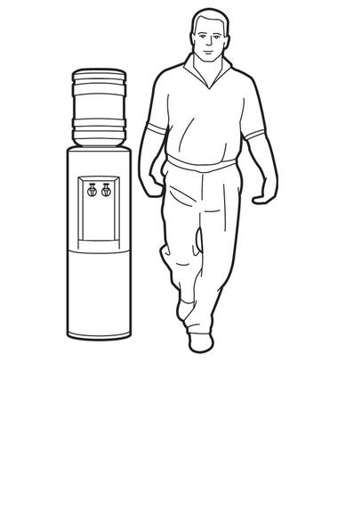 1. Lift one foot and stand on one leg for 30 seconds. Make sure you switch legs so you do the exercise for both legs. (Trish McAlaster/The Globe and Mail)