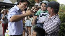Liberal Leader Justin Trudeau is in Charlottetown for the Liberal Party of Canada's annual summer caucus retreat. (Nathan Rochford/THE CANADIAN PRESS)