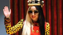 US pop diva Lady Gaga in China on July 3, 2011: China has banned websites from featuring 100 songs by artists from Lady Gaga to the Backstreet Boys, a statement on the culture ministry's website said on Aug. 25, 2011. (SAM YEH/AFP/Getty Images)