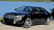 2012 Buick Regal GS. (Michael Bettencourt for The Globe and Mail)