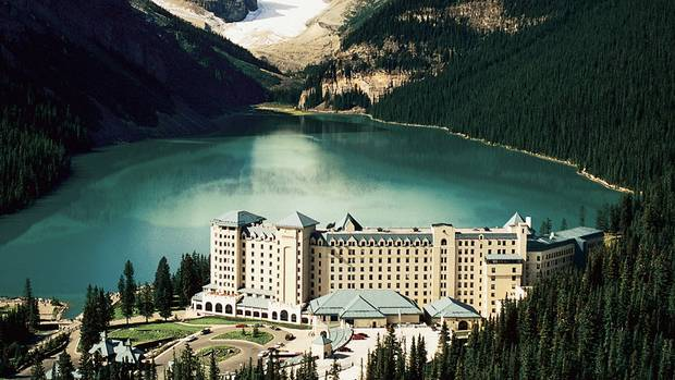 chateau lake louise cleared in waste water probe the. Black Bedroom Furniture Sets. Home Design Ideas