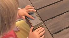 A child plays a game from Tickle Tap Apps. (YouTube/Tickle Tap Apps)