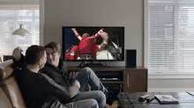 Screen grab from Bell Canada Olympics ad.