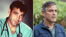 "The Clooney on the right (in ""The Descendants"") would be nowhere without the Clooney on the left (in ""ER""), says John Doyle."