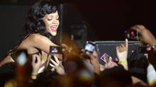 Rihanna was No. 2 in 2013 music downloads according to a ranking compiled by the data analytics firm Musicmetric. (Dylan Martinez/Reuters)