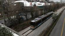 The streetcar line between the Olympic Village station and Granville Island should be sustained, Vancouver Mayor Gregor Robertson says. (Darryl Dyck/The Canadian Press)
