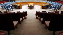The UN Security Council chamber, where some of the world's most important decisions are made. (Spencer Platt/Getty Images)