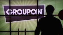 "Nearly lost in last week's hubbub was a pessimistic report on Groupon, which had previously reassured investors with robust revenue growth. In downgrading Groupon to ""equal weight,"" analyst Ken Sena of Evercore Partners suggests Groupon's top line isn't as pretty as it seemed. (Scott Olson/2011 Getty Images)"