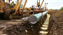 TransCanada Corp.s Keystone XL pipeline. (Nathan VanderKlippe/The Globe and Mail)