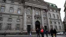 The banks are said to be negotiating to buy some of the Argentine bonds held by U.S. investors whose demand for a higher payment from the government led to a bruising court battle (MARCOS BRINDICCI/Reuters)