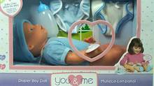 The You & Me Mommy Change My Diaper Doll
