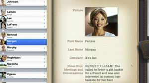 Bento for iPad app screen grab.