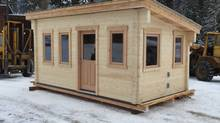 Rouck Brothers recently completed their most unique tiny-home project so far: a 180-square-foot home for a client in her 60s named Doris, built without any glues or plastics and heated using wax candles. (Rouck Brothers)