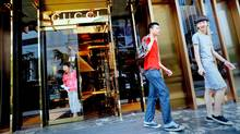 A luxury shop in Shanghai (PHILIPPE LOPEZ/AFP/Getty Images)