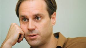 Jeff Skoll, Vice President of EBAY, at his office in San Jose, Calif., Wednesday, Oct. 4, 2000.