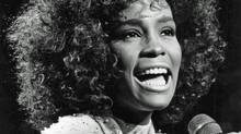 Whitney Houston was only 23 years old when she dazzled Toronto. Nearly 25,000 fans gathered at Toronto's Canadian National Exhibition Grandstand to hear the star performer. (Edward Regan/Edward Regan / The Globe and Mail)