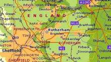 Rotherham is a town of about 250,000 in northern England.