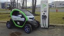 Tenault Twizy 40, which was certified by Transport Canada and will be sold in Canada beginning in the summer of 2016. (Renault)