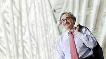 Caisse CEO Michael Sabia (Christinne Muschi for The Globe and Mail)