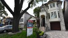 The shift in Canadian's debt-to-income ratio has been driven by more low-income people taking on large mortgages. (Fred Lum/The Globe and Mail)