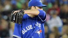 The Toronto Blue Jays have placed starting pitcher Brandon Morrow on the 15-day disabled list. (file photo) (Nathan Denette/THE CANADIAN PRESS)