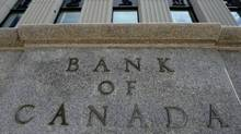 The Bank of Canada is seen in Ottawa on September 6, 2011. The central bank warned Thursday that years of low interest rates are now taking a toll on Canadian insurers' balance sheets. (Sean Kilpatrick/THE CANADIAN PRESS)
