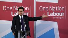 Ed Miliband's proposal has drawn support from many union leaders and former prime minister Tony Blair. (LUKE MACGREGOR/REUTERS)