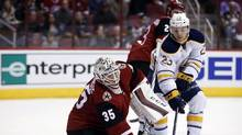 The year before the Sabres selected Jack Eichel second overall in the NHL draft, they got Reinhart with a second round pick. (Rick Scuteri/THE ASSOCIATED PRESS)