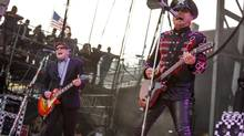 Rick Nielsen, left, and Robin Zander of Cheap Trick, a band best known for Surrender and I Want You to Want Me. (Barry Brecheisen/Invision/AP)