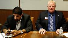 Kouvalis, seen with Ford in 2010, left the mayor's office in 2011 but has remained an important political ally (Deborah Baic/The Globe and Mail)