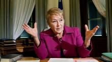 File photo of Quebec Premier Pauline Marois. (Francis Vachon For The Globe and Mail)