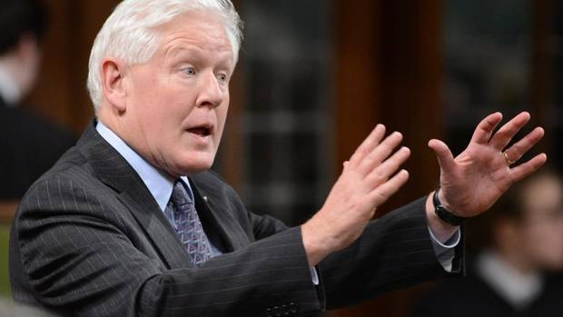 Liberal interim leader Bob Rae in the House of Commons on Jan. 30, 2013.