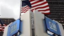 General Motors headquarters in Detroit. (Carlos Osorio/AP Photo)