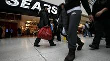 File photo of the Sears flagship outlet at Toronto's Eaton Centre. (Deborah Baic/The Globe and Mail)